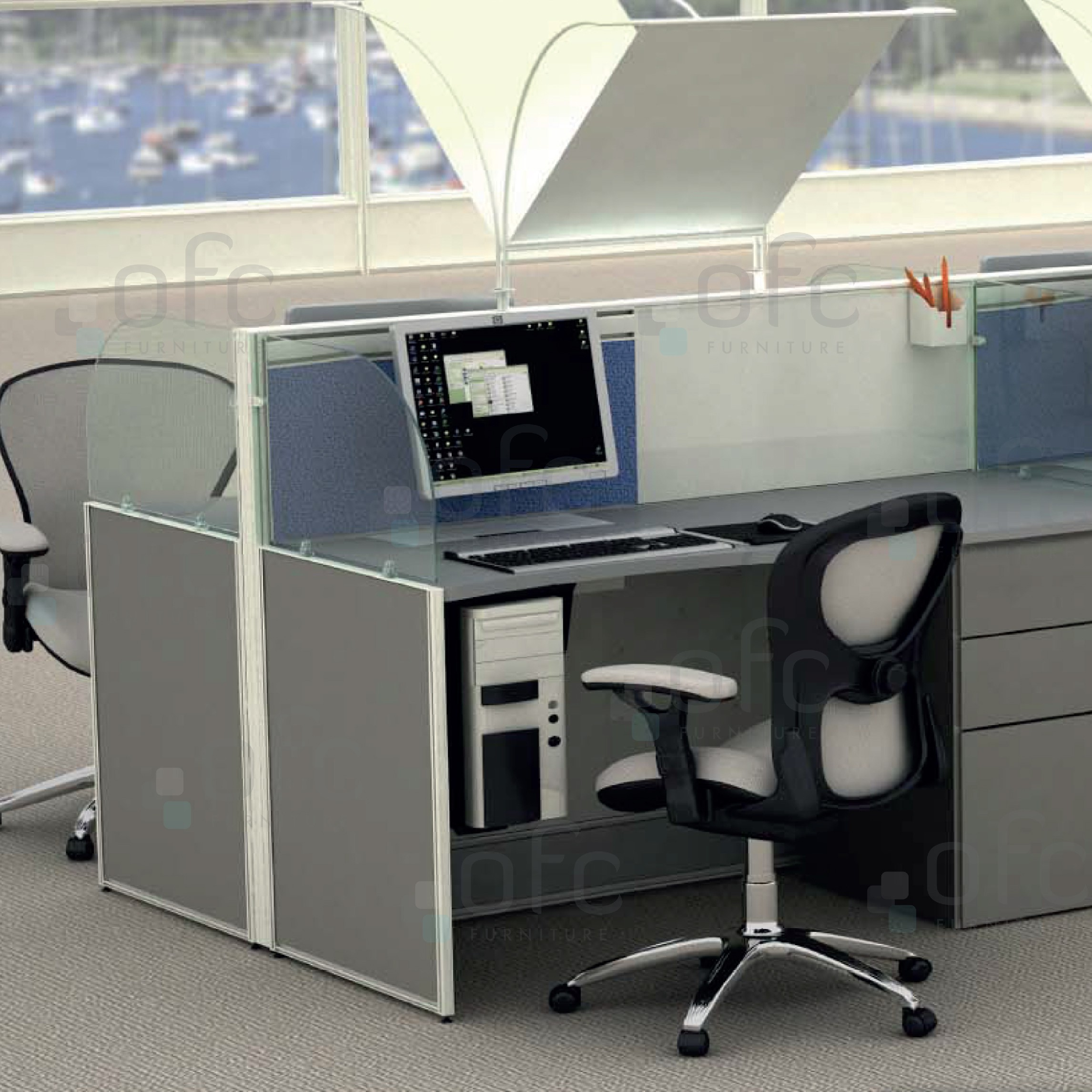 High Performance Frame office furniture system