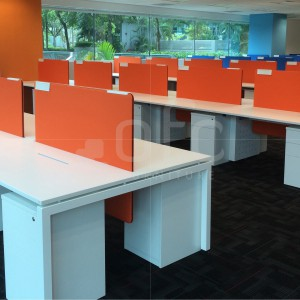 office workstation furniture with built-in drawer in singapore