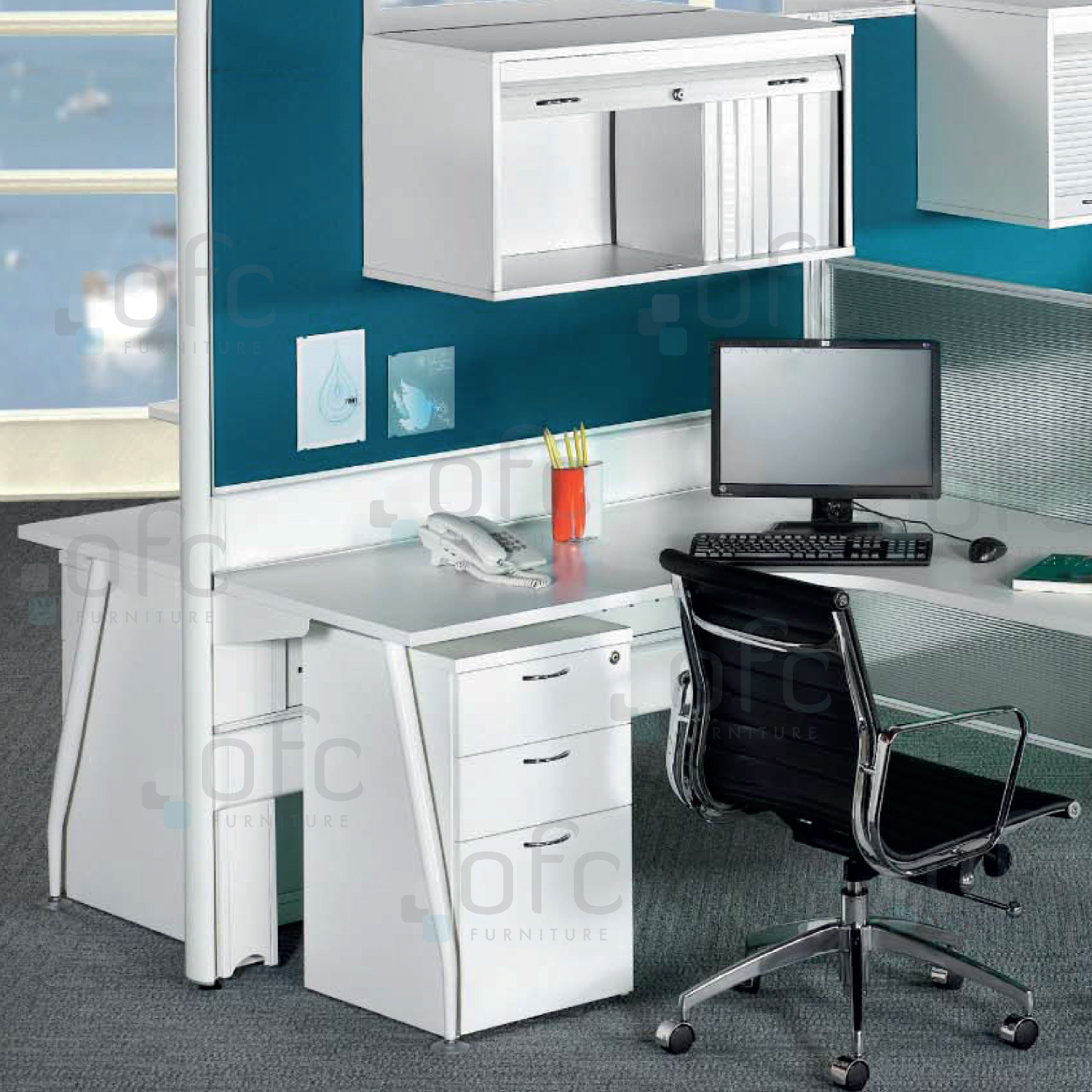 Thin Panel Office Furniture System
