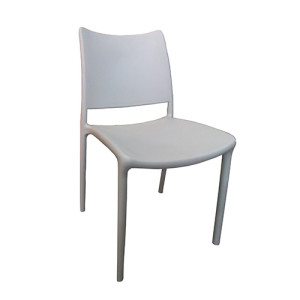 PVC chair in white from office furniture in Singapore