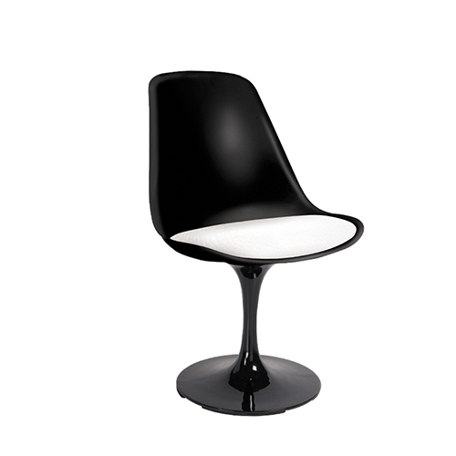 Black PVC office system furniture in Singapore