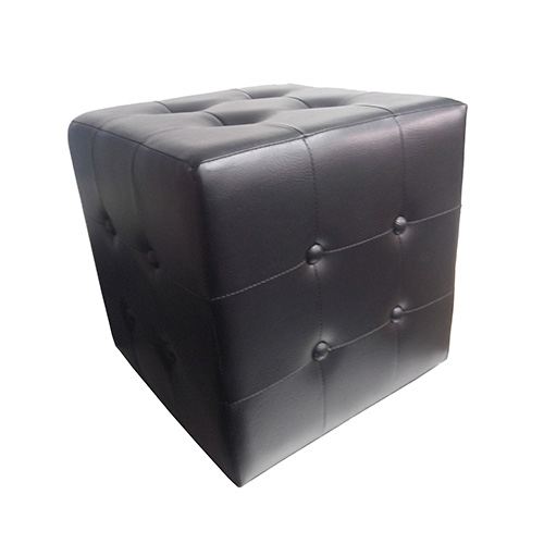 Leather stool for office system furniture supplier in Singapore