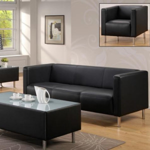 leather couch office system furniture in singapore