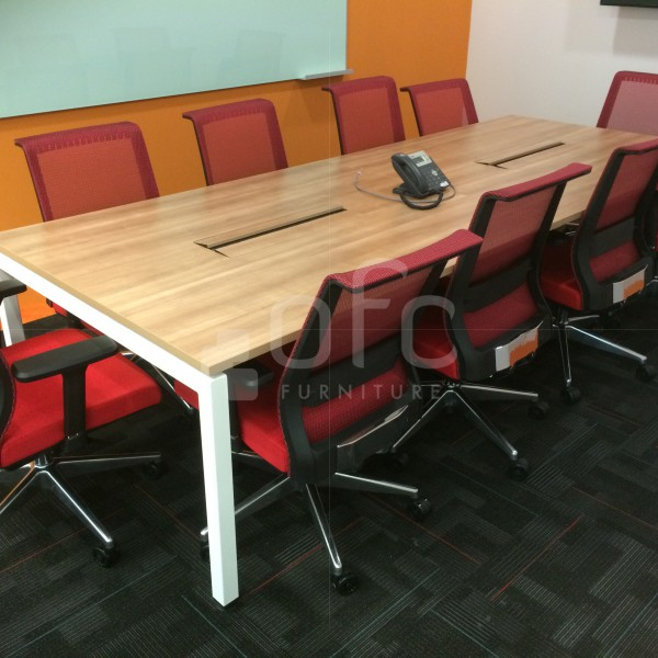 custom design and build conference table